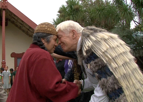 Chief Caleen_Maori Leader Rakihia Tau