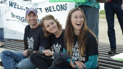 Don't Frack With Denton Civil Disobedience