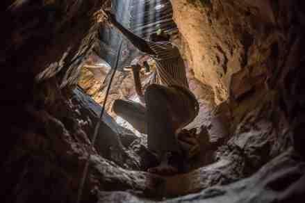 Gold mining in Kenya